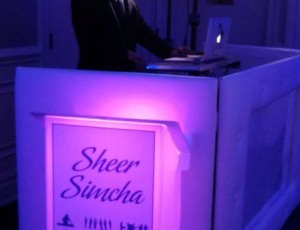 Sheer Simcha performing at a Beautiful Bat Mitzvah!